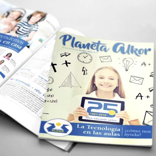 Colegio Alkor - Revista