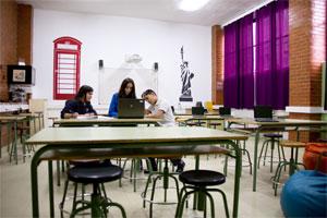 Colegio Alkor - Sala de idiomas
