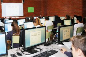 Colegio Alkor - Salas de informática