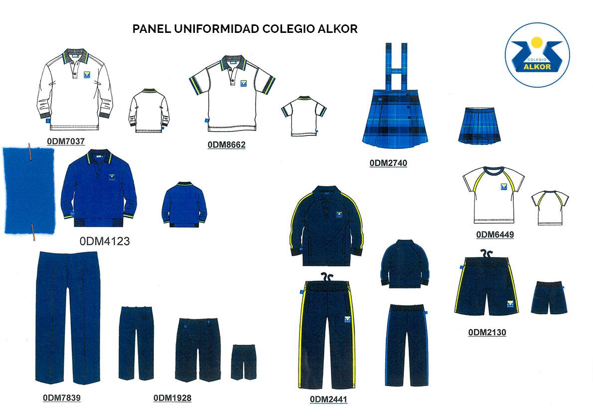 Colegio Alkor - Uniformes