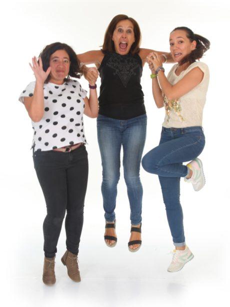 Ana, Eva y Laura